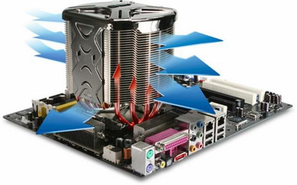 охлаждение процессора
