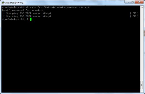 Установка и настройка DHCP сервера 3