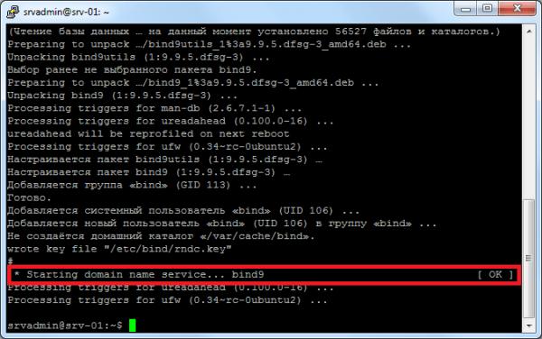 настройка DNS сервера Ubuntu 1