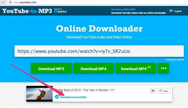 Скачать видео с youtube очень просто с сервисом youtubeto.com