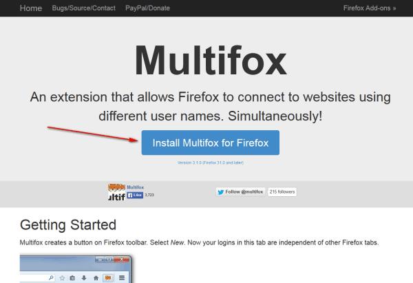 firefox использовать несколько профилей 1