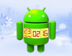 Как поменять дату в android.