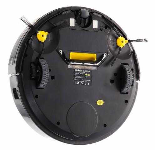 Робот-пылесос PANDA clever X1, вид снизу.